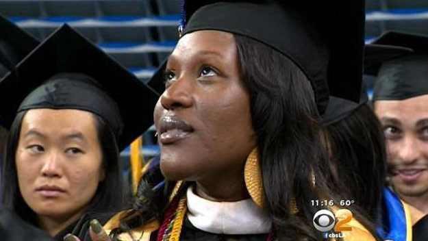 Deanna Jordan, Single Mother of Three, Graduates from UCLA with Three Degrees